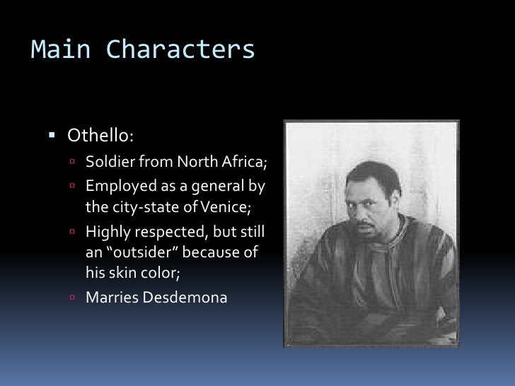"Essay on the outsiders in the play ""Othello"" Essay Sample"
