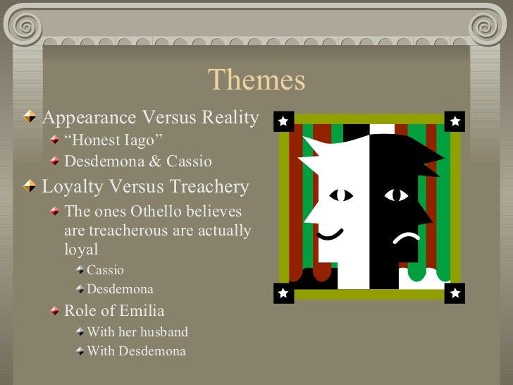 Othello Background Notes