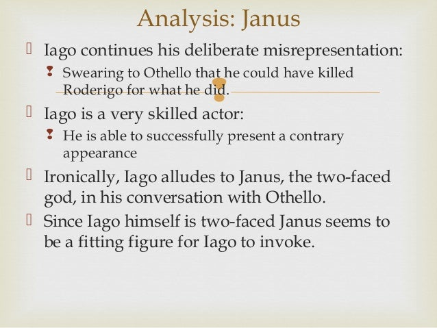 Explain how Othello is easily decieved by Iago. Include specific examples and quotations.