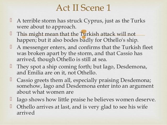Othello summary notes