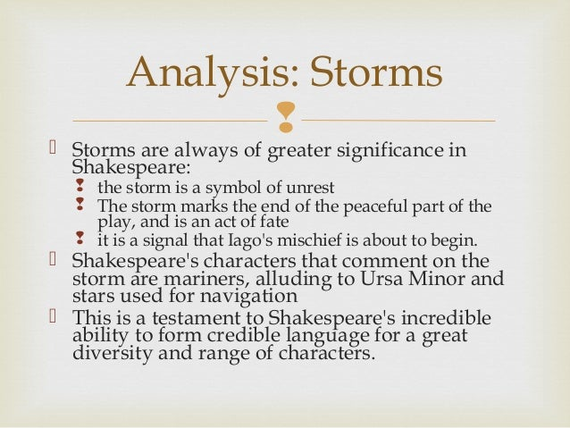 an analysis of the last speech of othello Ever wondered how othello follows the standard plot of most stories  analysis: plot analysis back  last and most importantly, you've got a livid iago itching.
