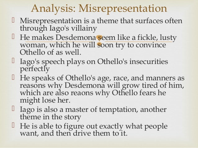 othello summary A secondary school revision resource for gcse english literature about the plot, characters and themes of shakespeare's othello.