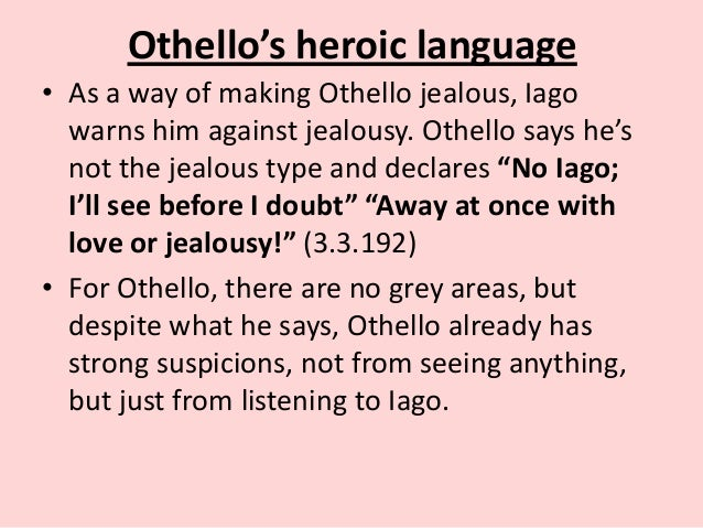 othello vs iago Everything you ever wanted to know about iago in othello, written by masters of this stuff just for you.
