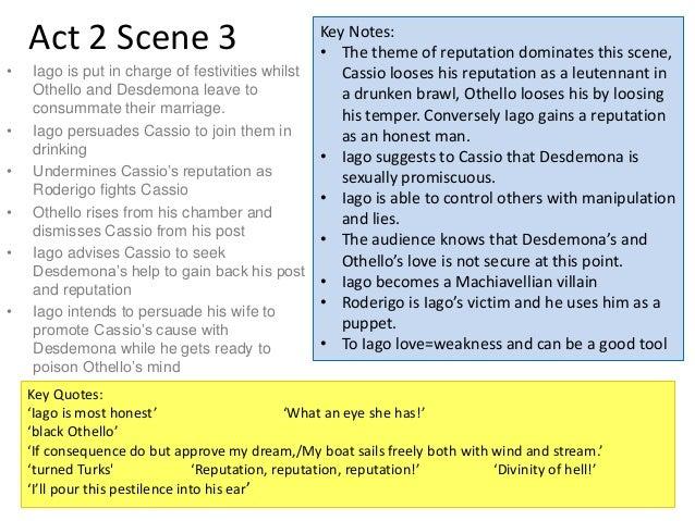 Explain how iago manipulates roderigo in act 2 scene 1. essay