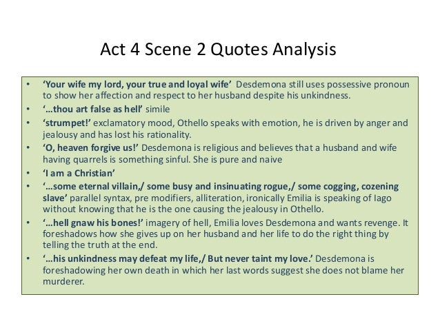 Othello By William Shakespeare Notes Quotes And Analysis By T Scar Extraordinary Othello Quotes