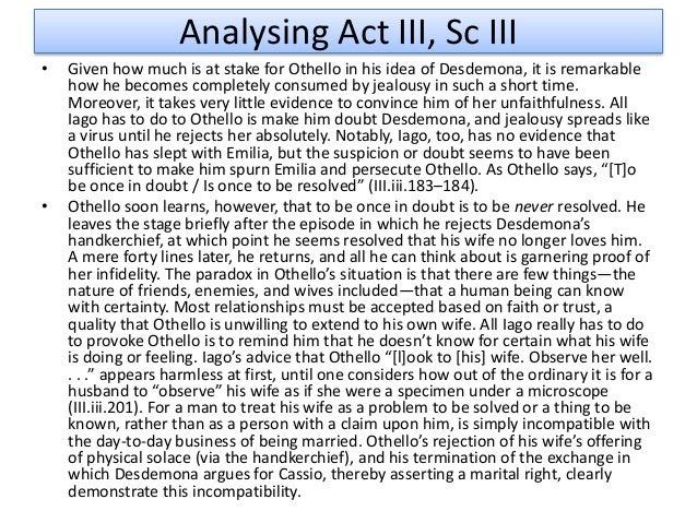 Othello essay conclusion