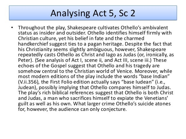 othello gullible quotes