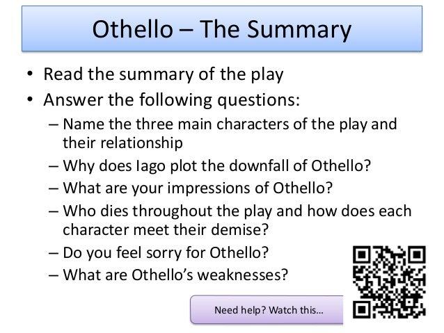 Othello short summary