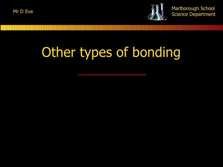 Other types of bonding