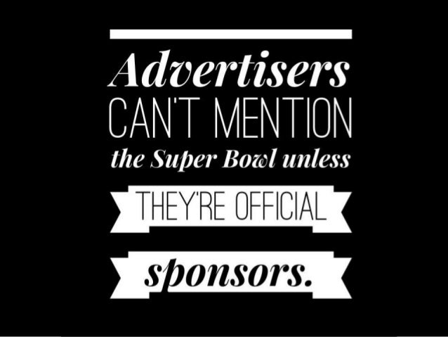 Other Names for the Super Bowl: A marketers guide