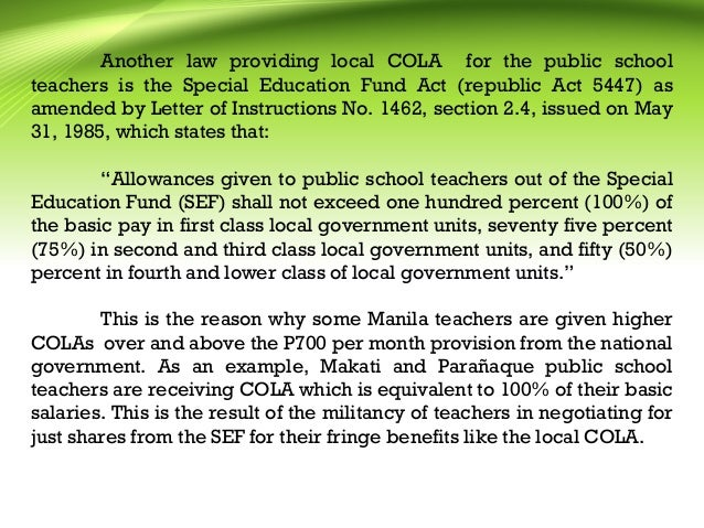 benefits of special schools