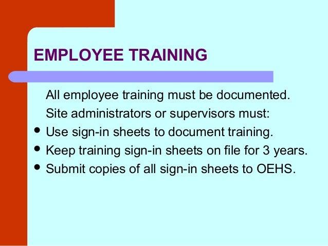 Hazard Communication Training By Lausd