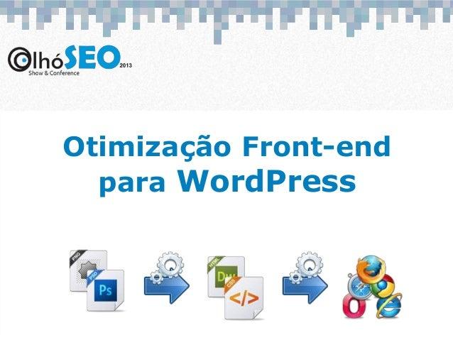 Otimização Front-endpara WordPress