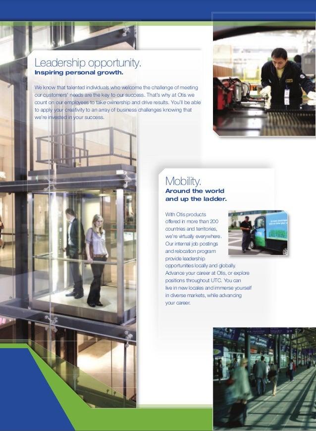 Otis Elevator Company - Recruitment Brochure