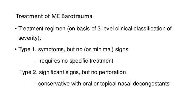 Otitic barotrauma by Dr Manohar Suryawanshi ENT resident