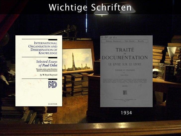 Wichtige Schriften                    1934