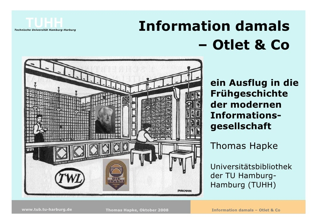 TUHH Technische Universität Hamburg-Harburg                Information damals                                             ...