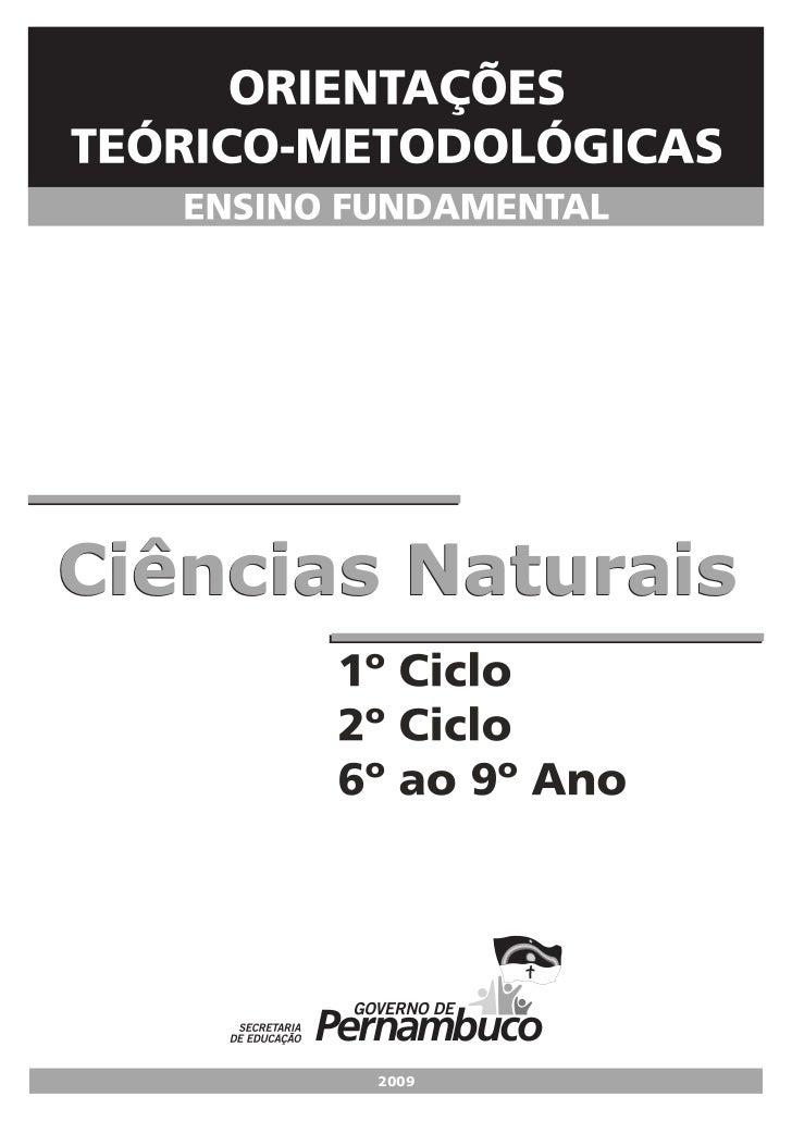 Ciências Naturais        2009