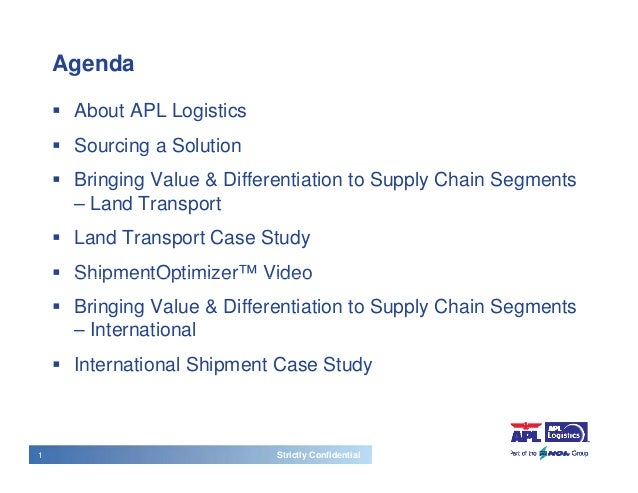 case 8 3 isol global value chain logistics case analysis Supply chain management at walmart  free lance case writer at richard ivey business school  where do you see the opportunities for wal-mart in its global supply.