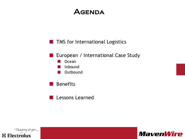 Excel logistics services case solution