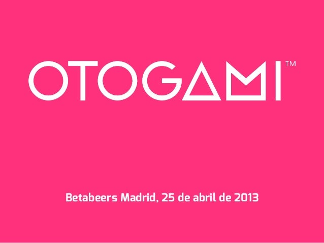 Betabeers Madrid, 25 de abril de 2013