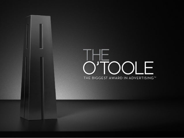 The O'Toole Awards for  Media Excellence