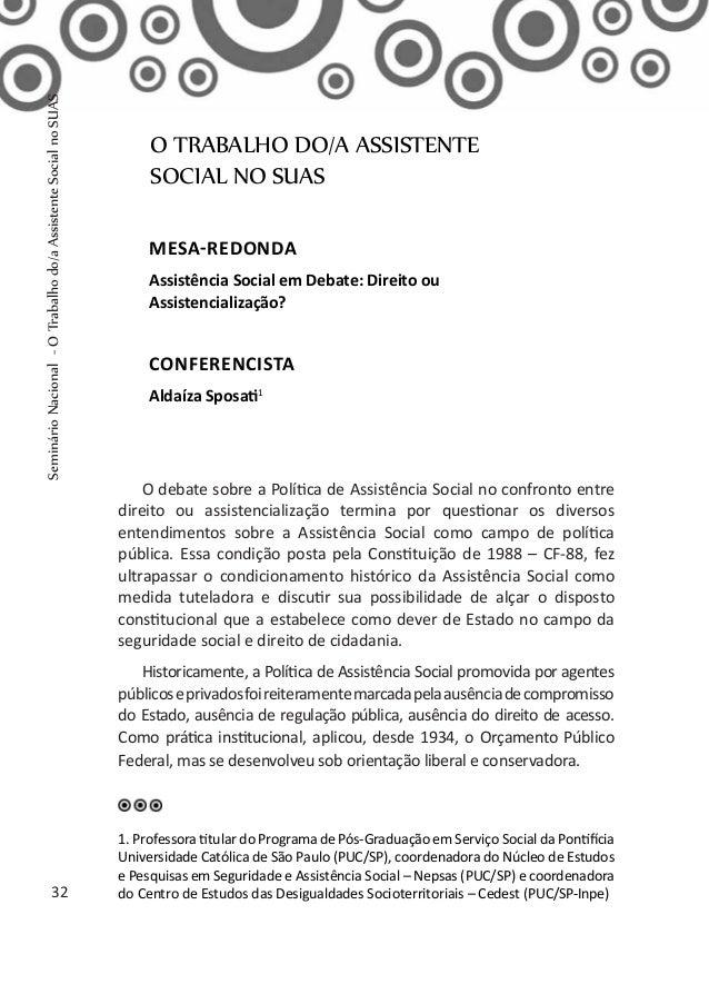 Exame trabalho social