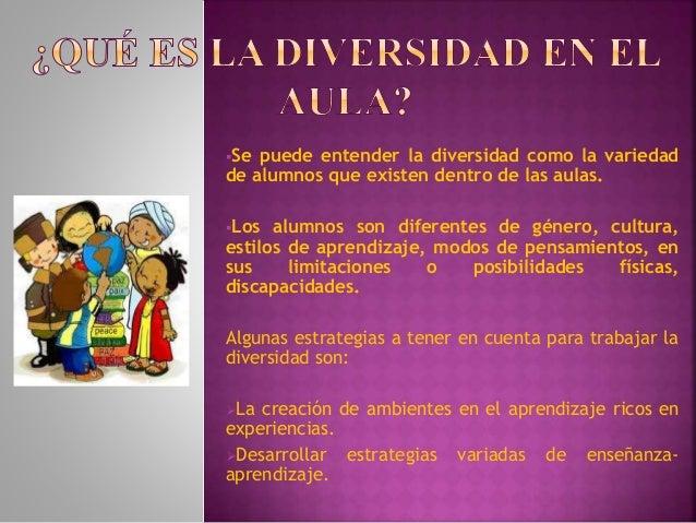OTRAS VARIABLES QUE DETERMINAN LA DIVERSIDAD EN EL AULA Slide 2