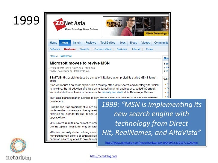 """A """"new, new"""" Search Engine Slide 3"""