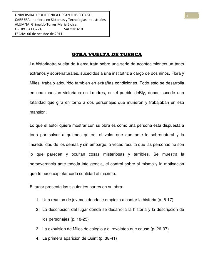 Otra Vuelta De Tuerca 1