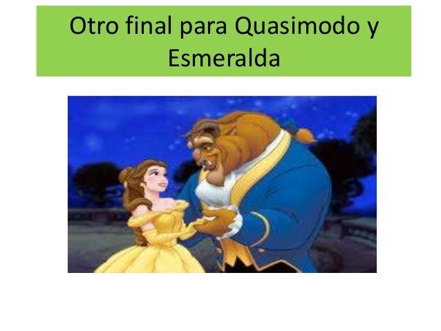 Otro final para Quasimodo y Esmeralda