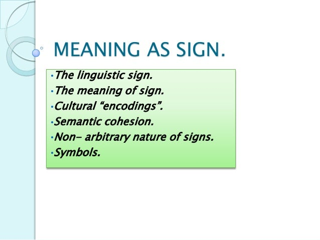 Sign (semiotics)