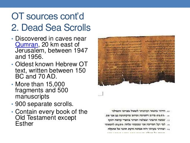 the historical and scholastic value of the dead sea scrolls The story of the discovery of the first dead sea scrolls has become a part of  western lore who has not  list price: $2499 save: $800  reclaiming the  dead sea scrolls: the history of judaism, the background of christianity   reclaiming.