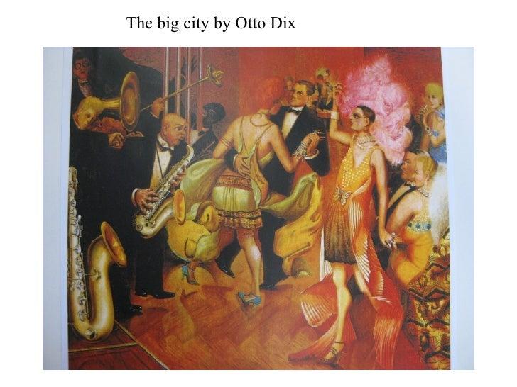 The big city by Otto Dix