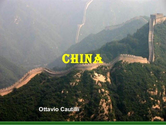 CHINAOttavio Cautilli
