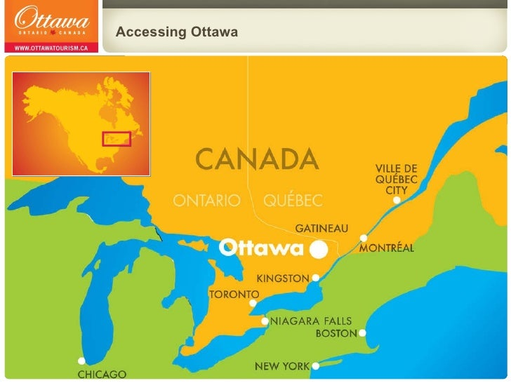 Ottawa Tourism Travel Trade Presentation English March 2010 – Ottawa Tourist Attractions Map