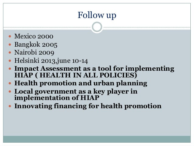 jakarta declaration on health promotion pdf