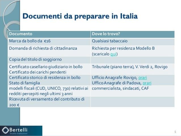modulo richiesta cittadinanza italiana read book modello