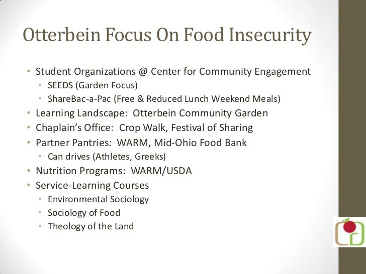 Otterbein- AmeriCorps VISTA Summer Associate Presentation 2012 Slide 2