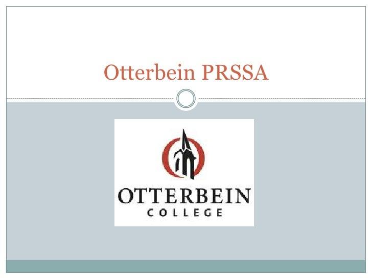 Otterbein PRSSA<br />