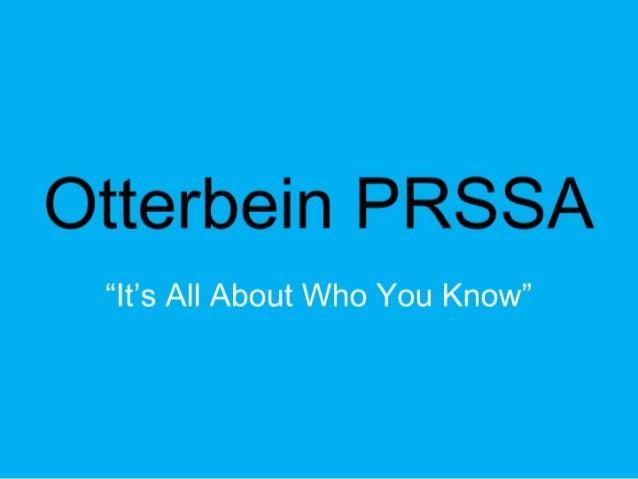 Otterbein PRSSA 2010
