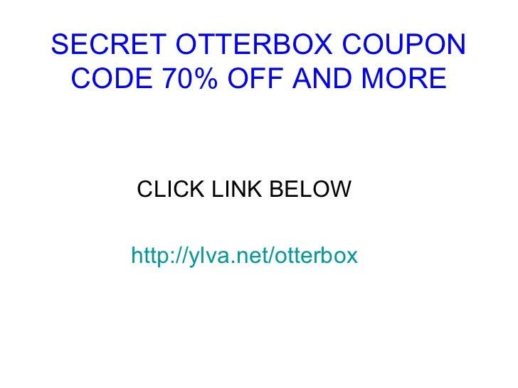 Otter box coupon code