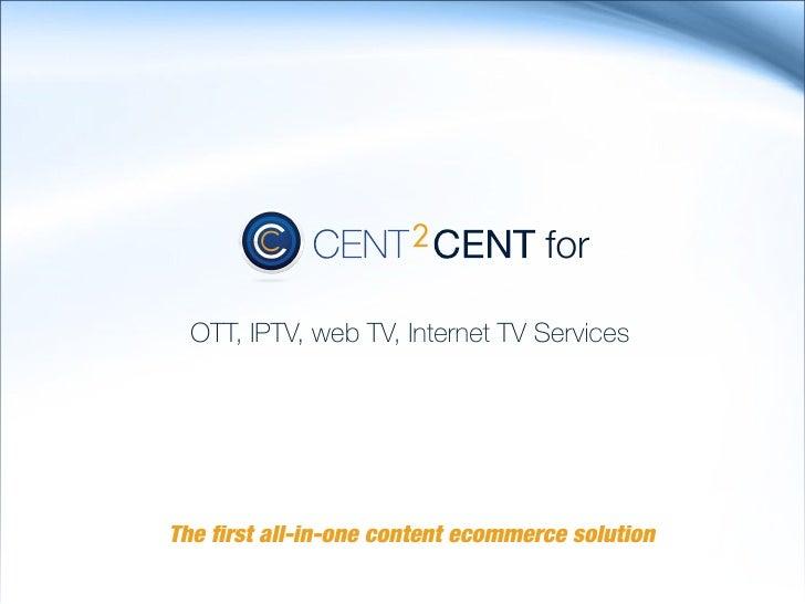 OTT, IPTV, Web TV, Internet TV Solution