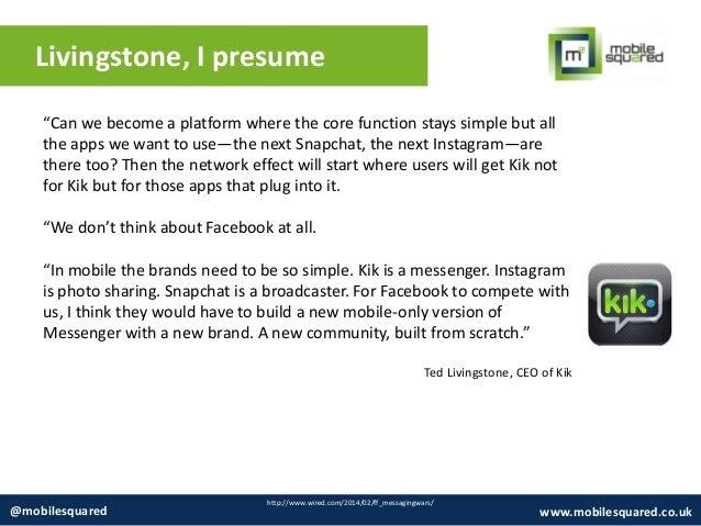 OTT Messaging Market Overview 2014