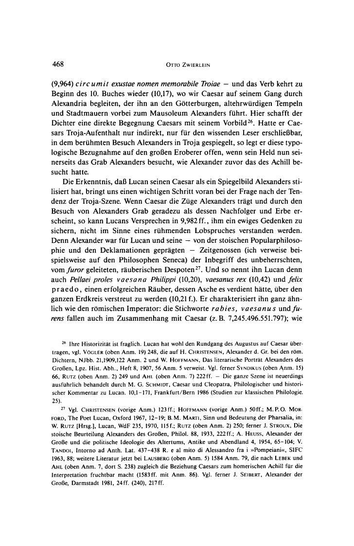 468                                         OTTO ZWIERLEIN(9,964) circ umit exustae nomen memorabile Troiae - und das Verb...