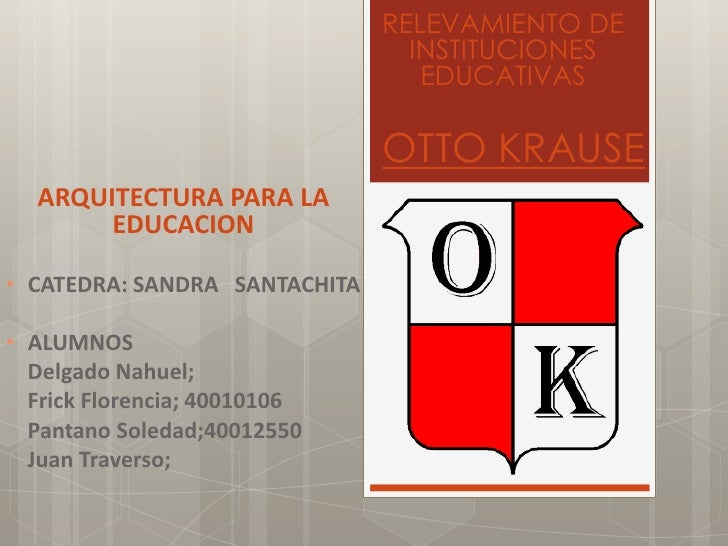 RELEVAMIENTO DE                                 INSTITUCIONES                                  EDUCATIVAS                 ...