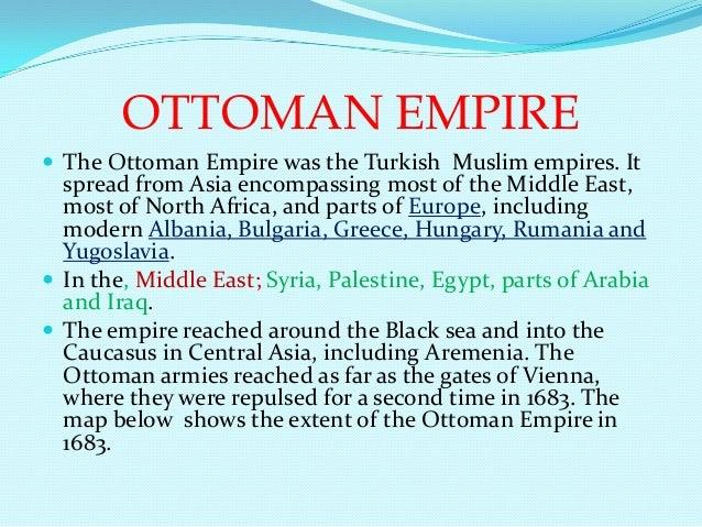 Ottoman empire Slide 2