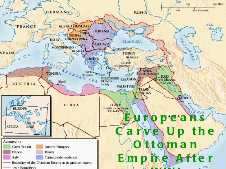 Ottoman Empire To Wwi