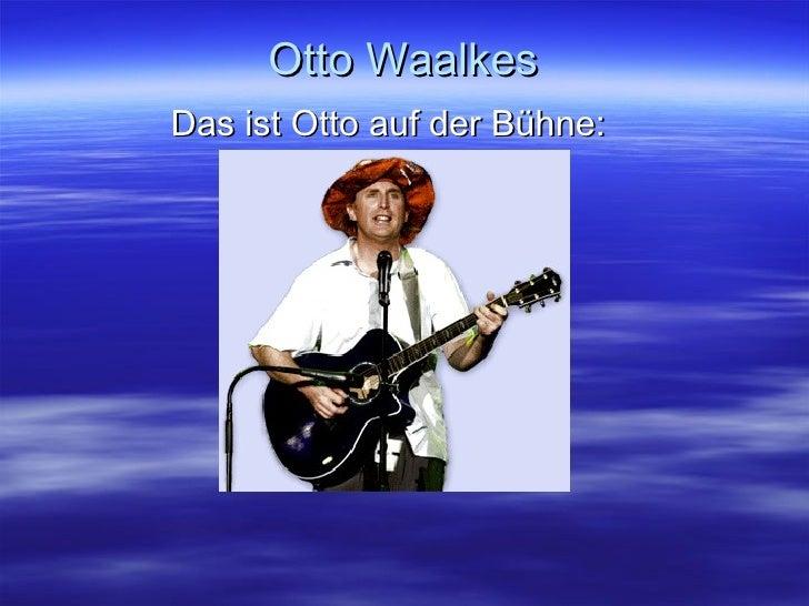 Otto Waalkes Das ist Otto auf der Bühne:
