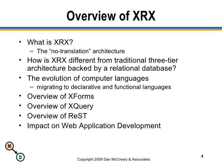 XRX Presentation to Minnesota OTUG on